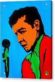 Johnny Pop II Acrylic Print by Pete Maier
