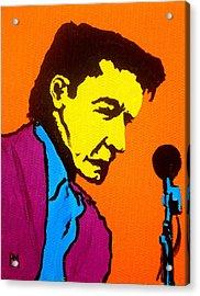Johnny Pop IIi Acrylic Print by Pete Maier