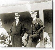 Johnson & Ruth, 1922 Acrylic Print by Granger