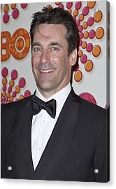 Jon Hamm At Arrivals For Hbo Post-emmy Acrylic Print