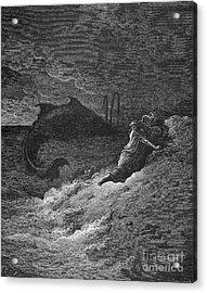 Jonah & The Whale Acrylic Print by Granger