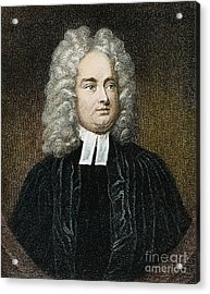 Jonathan Swift (1667-1745) Acrylic Print by Granger