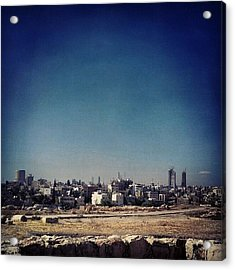 Jordan's Capital | Amman What A Acrylic Print