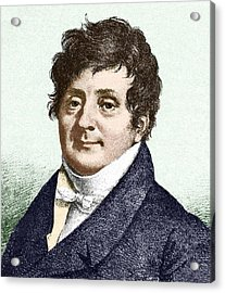 Joseph Fourier, French Mathematician Acrylic Print by Sheila Terry