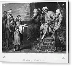 Joseph Interpreting Dream Acrylic Print by Granger