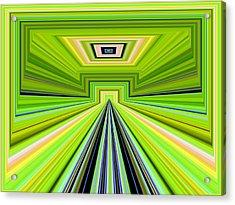 Josha Acrylic Print by Danny Lally