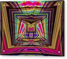 Josha No.8 Acrylic Print by Danny Lally