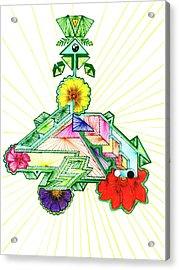 Journey Of Light Acrylic Print by Harry Richards