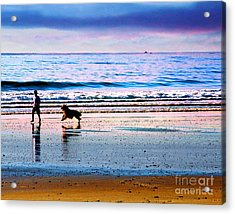 Joy Acrylic Print by Alene Sirott-Cope