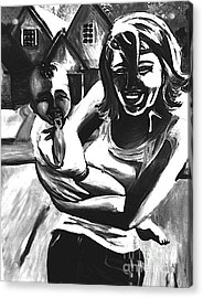 Joy Acrylic Print by Jeffrey Kyker