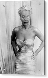 Joyce Bryant, African American Singer Acrylic Print by Everett