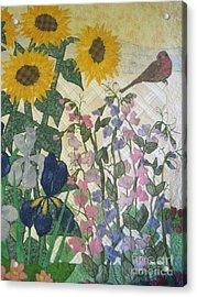 Joys Of Nature Acrylic Print by Denise Hoag