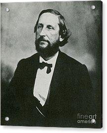 Judah P. Benjamin, Confederate Acrylic Print by Photo Researchers