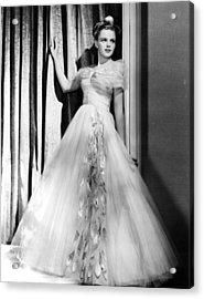 Judy Garland, Ca. 1940s Acrylic Print