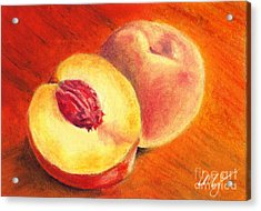 Juicy Fruit Acrylic Print by Iris M Gross