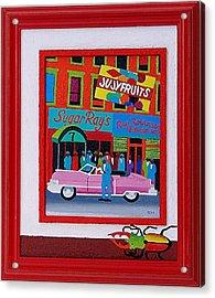 Jujyfruit Acrylic Print by Rob M Harper