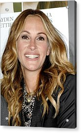 Julia Roberts At Arrivals For Fireflies Acrylic Print by Everett