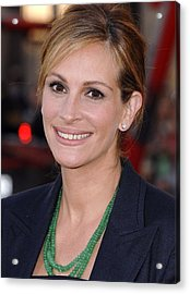 Julia Roberts At Arrivals For Larry Acrylic Print