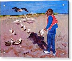 Julie On The Cape Acrylic Print