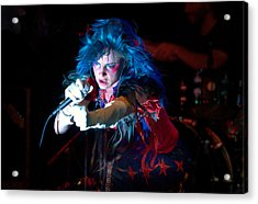 Acrylic Print featuring the photograph Juliette Lewis by Jeff Ross
