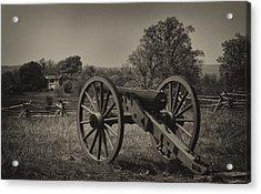 July 1 1863 Gettysburg Acrylic Print by William Jones