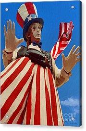 July 4th Acrylic Print by Jerry L Barrett