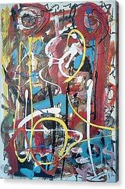 July 9 2012-1 Acrylic Print by Gustavo Ramirez