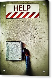 Junction Box Acrylic Print