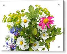 Acrylic Print featuring the photograph June Bouquet by Aleksandr Volkov