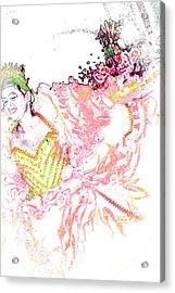 June Festival 3 Acrylic Print by Rosane Sanchez