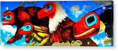 Juneau Mural 2 Acrylic Print by Randall Weidner
