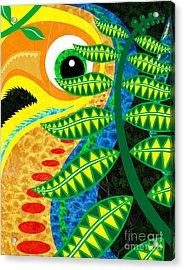 Jungle Bird Acrylic Print by Robert Ball