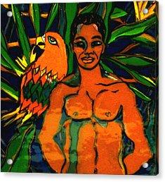 Jungle Pals Acrylic Print by Patricia Lazar