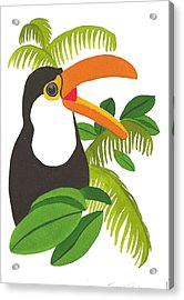 Jungle Toucan Acrylic Print