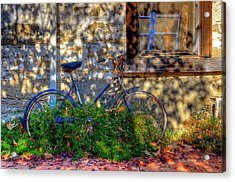 Junked Acrylic Print by Eyal Nahmias