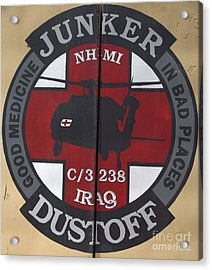 Junker Dustoff Acrylic Print by Unknown