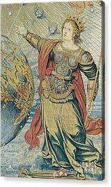 Juno, Roman Goddess Acrylic Print by Photo Researchers