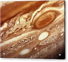Jupiter Acrylic Print by InterNetwork Media