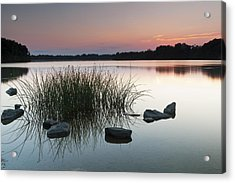 Just Another Sunset Acrylic Print by Edward Kreis