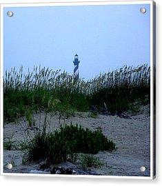 Just Beyond The Sea Oats Acrylic Print by Frank Wickham