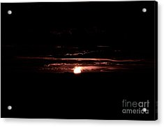Just Beyond The Sunset Acrylic Print