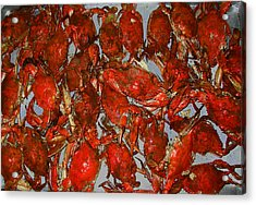 Just Crabs Acrylic Print by Jim Ziemer