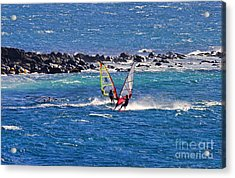 Just Passing By Acrylic Print by Mike  Dawson