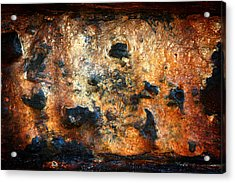 Just Rust Acrylic Print by Shane Rees
