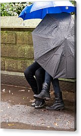 Just Us... Acrylic Print by Michael Braxenthaler