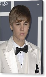 Justin Bieber At Arrivals For The 53rd Acrylic Print by Everett