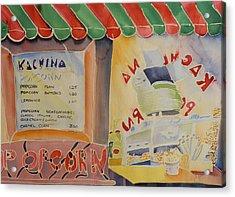 Kachina Popcorn Acrylic Print