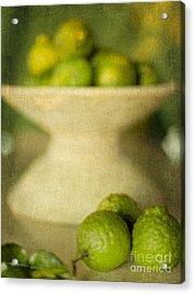Kaffir Limes Acrylic Print by Linde Townsend