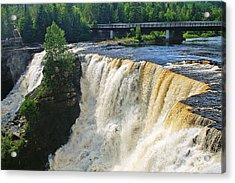 Kakabeka Falls Acrylic Print by Bill Morgenstern