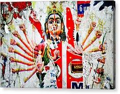 Kaliyuga Acrylic Print by Dev Gogoi